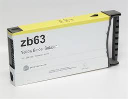 zb63 Yellow Binder Cartridge